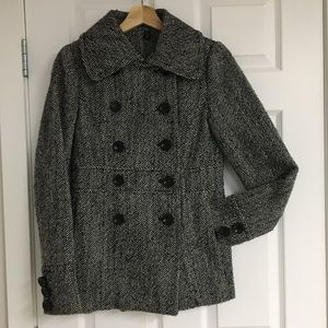 Le Chateau wool blend coat, size XS.